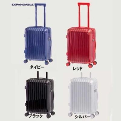 アジアラゲージ スーツケース 33リットル EXPANDABLE FASTENER CARRY 拡張ファスナーキャリー ALK-6010-18 50mm径ダブルホイールキャスタ