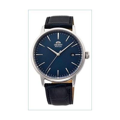 Orient RA-AC0E04L Men's Maestro Leather Band Minimalist Blue Dial Automatic Watch並行輸入品
