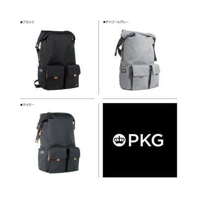 【スニークオンラインショップ】 PKG ピーケージー バッグ リュック バックパック メンズ レディース 22L CONCORD ブラック グレー チャコールグレー 黒 LB01P2 ユニセックス グレー ワンサイズ SNEAK ONLINE SHOP