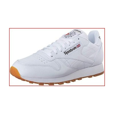 Reebok Men's Classic Leather Casual Sneakers, White/Gum, 11【並行輸入品】