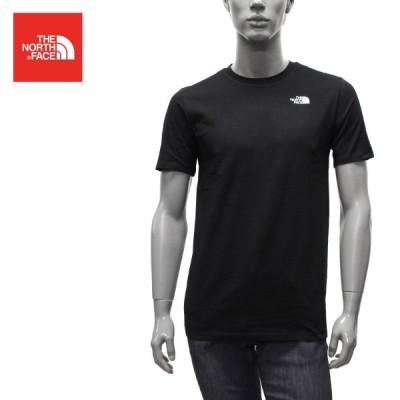 ザノースフェイス THE NORTH FACE  FOUNDATION LEFT LOGO 半袖Tシャツ【TNF BLACK】 NF0A55AX  JK3/【2021SS】m-tops