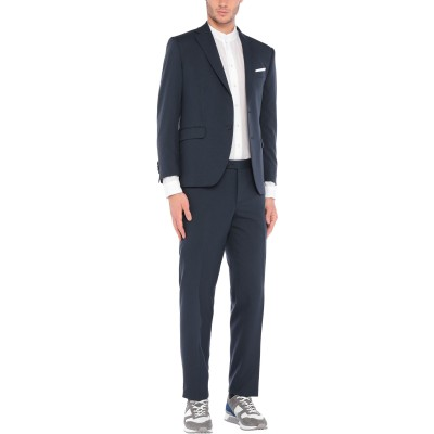 CITY TIME スーツ ダークブルー 46 ポリエステル 100% スーツ