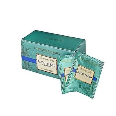 フォートナム&メイソン Royal Blend Tea Bags ティーバッグ 25個入り 個包装 ロイヤルブレンド [並行輸入品]