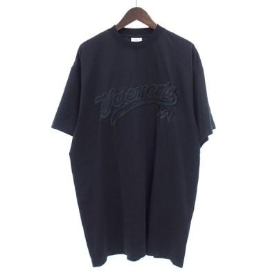 ヴェトモン/VETEMENTS 20AW UAH21TR516Tシャツ 82K20 サイズ メンズ XS ブラック ランクA 102  (中古)