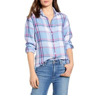 グレイソン シャツ トップス レディース The Hero Tumbled Linen Shirt Louisa