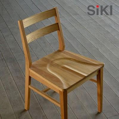 シキファニチア ダイニングチェア シーズン 板座 アームレスチェア 椅子 イス SIKI FURNITURE おしゃれ デザイナー