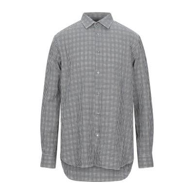 ポール・スミス PAUL SMITH シャツ ブラック 15 コットン 99% / ポリウレタン 1% シャツ