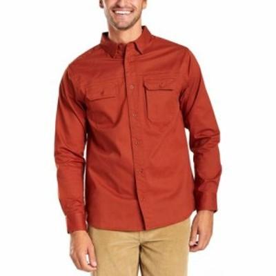 ユナイテッド バイ ブルー トップス Holt Long-Sleeve Work Shirt - Mens
