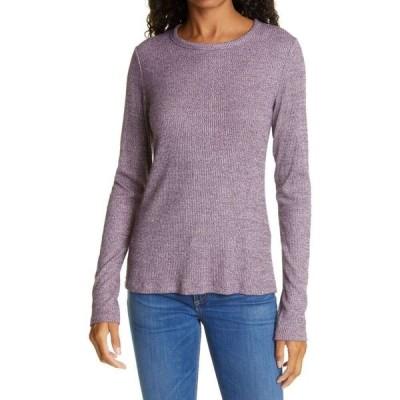 ラグ&ボーン RAG & BONE レディース トップス The Knit Long Sleeve Top Purple Multi