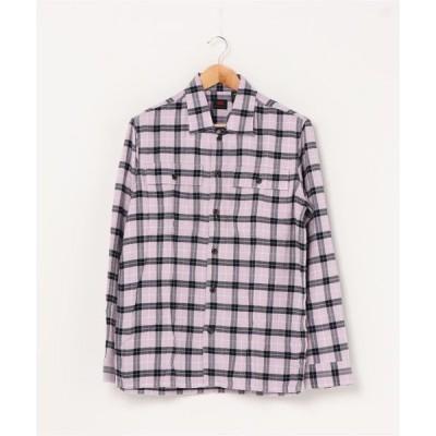 シャツ ブラウス LEVI'S(R) SKATEBOARDING SKATE ロングスリーブワークシャツ PYROPE NAVY BLAZER