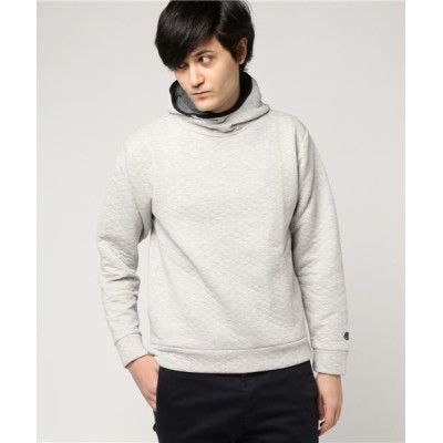 Global Forme Concrete / quilting sweat parka(QS-002)/スウェットパーカー MEN トップス > パーカー