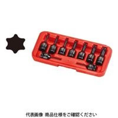 ラグナラグナ(JTC) JTC 9.5mmインパクト用スターソケットセット JTCJ309T 1セット(直送品)