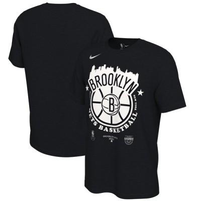 NBA ブルックリン・ネッツ Tシャツ 2021 NBAプレーオフ進出記念 City ナイキ Nike ブラック 21NBAPO