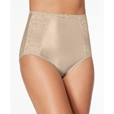 バリ Bali レディース ショーツのみ インナー・下着 Double Support Collection Brief Underwear DFDBBF Soft Taupe