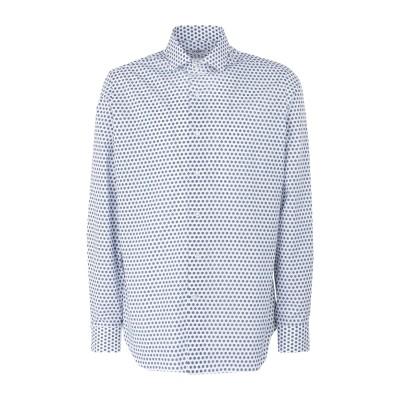 UNGARO シャツ ホワイト 39 コットン 100% シャツ