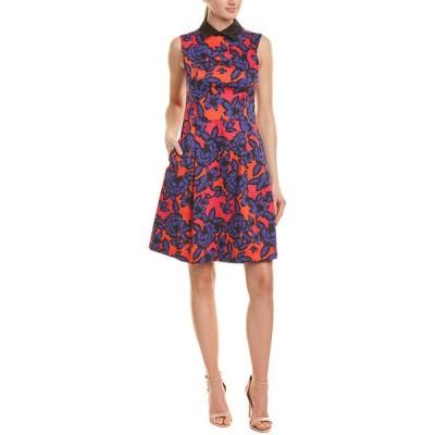 ニッサ ワンピース トップス レディース NISSA A-Line Dress pink print