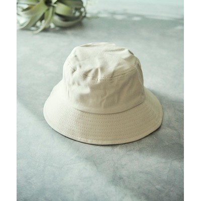 TONE / シンプルカラーバケットハット WOMEN 帽子 > ハット