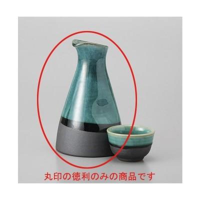 酒器 徳利 / トルコブルー徳利2合 寸法:9.5 x 16cm 350cc