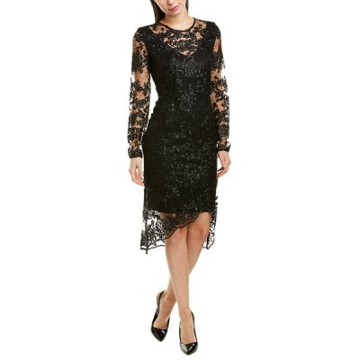 ダナキャラン ワンピース トップス レディース Donna Karan New York Sheath Dress black