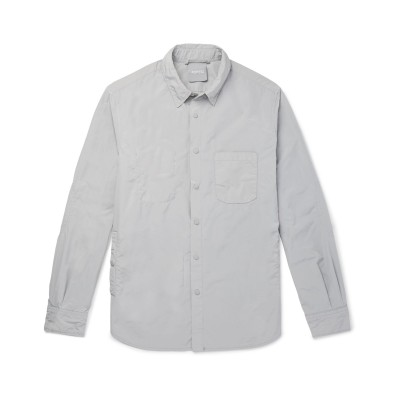 アスペジ ASPESI シャツ ライトグレー S ポリエステル 80% / ナイロン 20% シャツ