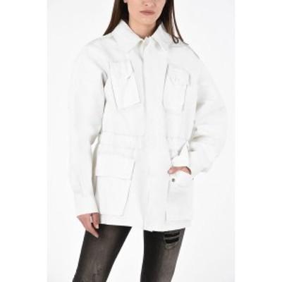 MAISON MARGIELA/メゾン マルジェラ White レディース MM1 Cotton Jacket dk