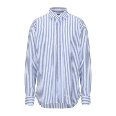TINTORIA MATTEI 954 シャツ ブルー 46 コットン 100% シャツ
