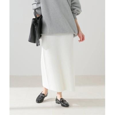 レディース フレームワーク 【BLOSSOM H】 ブークレニットスカート ホワイト A フリー