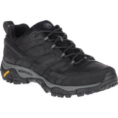 メレル Merrell メンズ ハイキング・登山 シューズ・靴 Moab 2 Prime Hiking Shoe Black Full Grain Leather