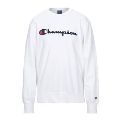 チャンピオン CHAMPION スウェットシャツ ホワイト XS コットン 100% スウェットシャツ