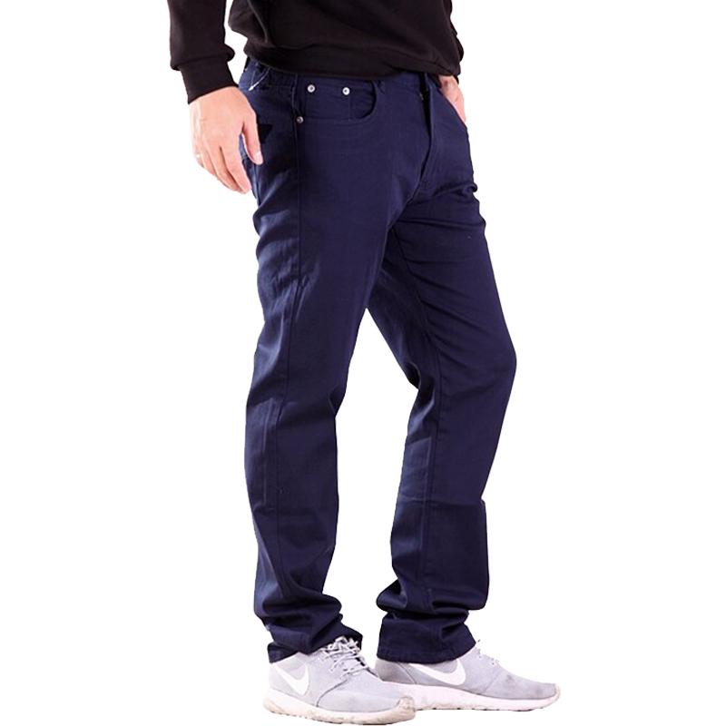 韓版潮流 素面 彈力 修身 窄管小直筒 休閒褲 色褲 7311【CS衣舖 】