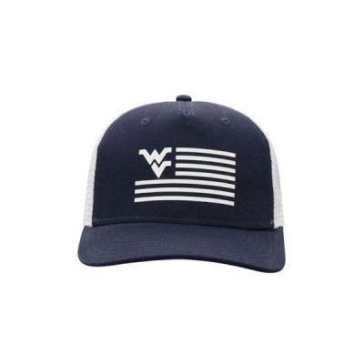 トップオブザワールド メンズ 帽子 アクセサリー West Virginia Mountaineers Here Trucker Cap