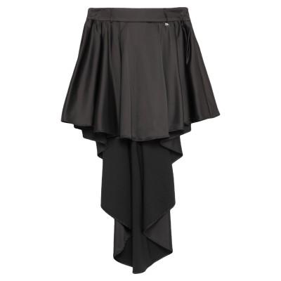 レリッシュ RELISH ひざ丈スカート ブラック 40 ポリエステル 97% / ポリウレタン 3% ひざ丈スカート