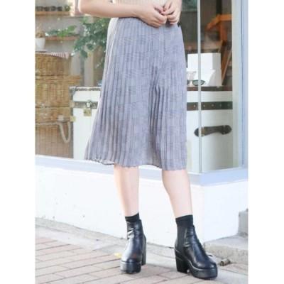 【ダズリン/dazzlin】 【sw】チェックプリーツラップスカート
