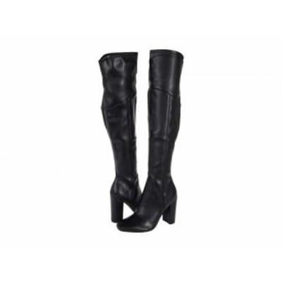 GUESS ゲス レディース 女性用 シューズ 靴 ブーツ ロングブーツ Mireya Black Leather【送料無料】