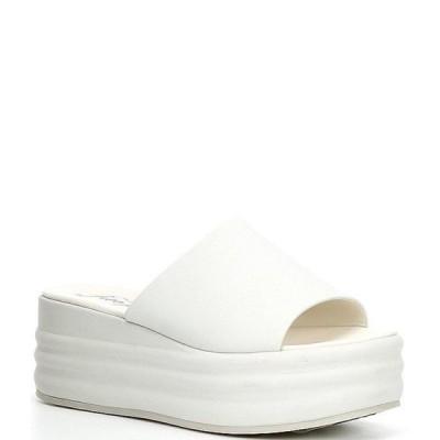 フリーピープル レディース サンダル シューズ Harbor Leather Flatform Slide Sandals