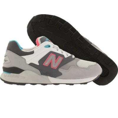 ニューバランス New Balance メンズ スニーカー シューズ・靴 878 90s Running ML878AAD gray/lead/silver mink/blue jewel