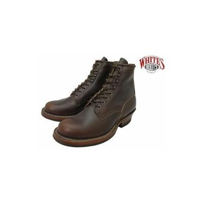 ホワイツ バウンティハンター ホワイツブーツ ブラウン ホーウィン クロムエクセル メンズ ブーツ ワークブーツ プレーントゥ White's Boots Bounty Hunt…