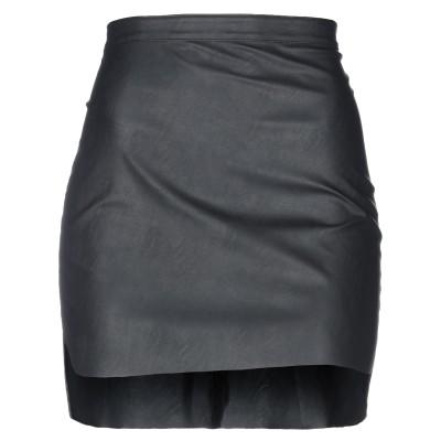 T+ART ミニスカート ブラック XS ポリウレタン 60% / ナイロン 40% ミニスカート