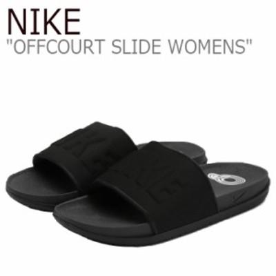 ナイキ サンダル NIKE レディース OFFCOURT SLIDE オフコート スライド BLACK ブラック BQ4632-002 シューズ