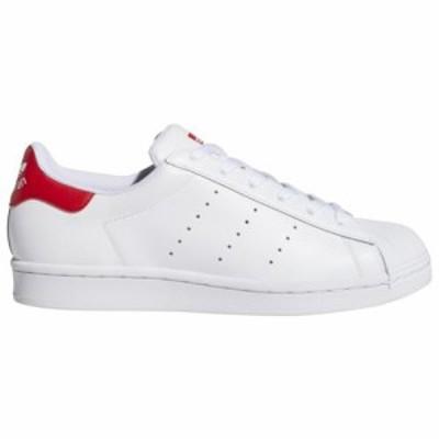 (取寄)アディダス レディース オリジナルス スーパースタン  Women's adidas Originals SuperStan White White Scarlet