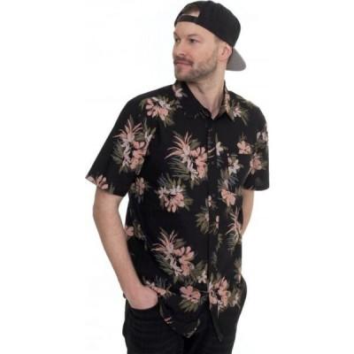 ボルコム Volcom メンズ シャツ トップス - Floral With Cheese Black - Shirt black
