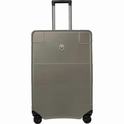 ビクトリノックス スーツケース・キャリーバッグ Lexicon 26 Medium Hardside Checked Spinner Luggage Titanium