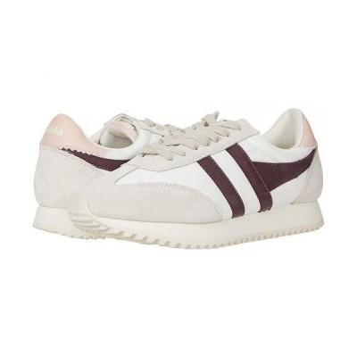 Gola ゴラ レディース 女性用 シューズ 靴 スニーカー 運動靴 Boston 78 - Off-White/Burgundy/Pearl Pink