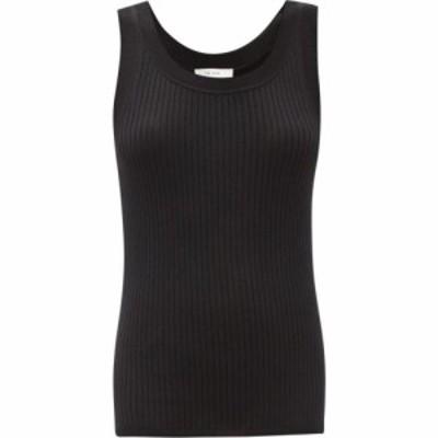 ザ ロウ The Row レディース タンクトップ トップス Aniela scoop-neck merino-wool blend tank top Black