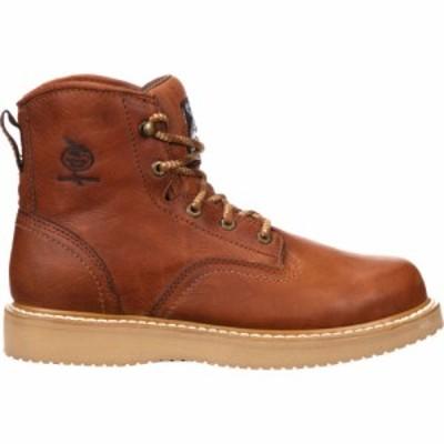 ジョージアブーツ Georgia Boots メンズ ブーツ ウェッジソール ワークブーツ シューズ・靴 Georgia Boot Wedge Steel Toe Work Boots Ba