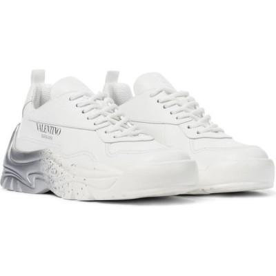 ヴァレンチノガラヴァーニ Valentino / Garavani レディース スニーカー シューズ・靴 valentino garavani gumboy leather sneakers Bianco/Silver