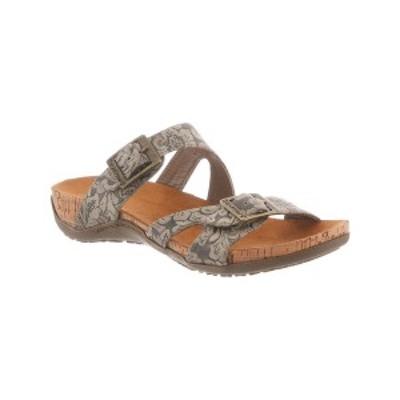 ベアパウ レディース サンダル シューズ Women's Maddie Flat Sandals Mushroom