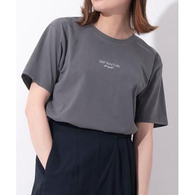 Samantha Thavasa / Samantha Green オーガニックコットン混Tシャツ WOMEN その他 > その他