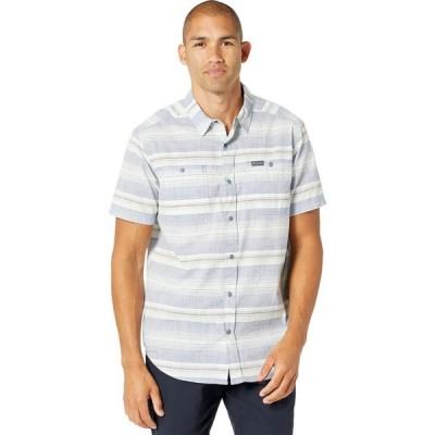 コロンビア Columbia メンズ 半袖シャツ トップス Leadville Ridge(TM) Short Sleeve Shirt II Bluestone Stripe