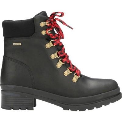 ムックブーツ ブーツ&レインブーツ シューズ レディース Muck Boots Women's Liberty Alpine Waterproof Casual Boots Black
